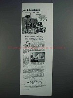 1927 Ansco Memo Camera Ad - For Christmas
