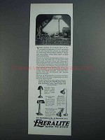 1927 Emeralite Lamp Ad - Junior, Desk, Floor