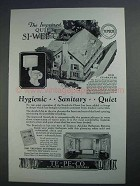 1927 Te-Pe-Co Si-Wel-Clo Closet Ad - Improved Quiet