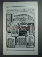 1927 Russwin Hardware Ad - In Chattanooga