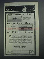 1927 Daytona Beach Florida Ad - On The East Coast