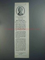 1926 Davey Tree Expert Ad =- Silver Jubilee Year