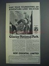 1926 Great Northern Railroad Ad - Adventure Land
