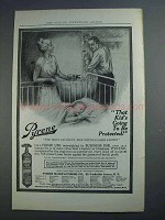 1915 Pyrene Fire Extinguisher Ad - Kid's Protected