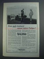 1914 Valentine's Valspar Ad - Even Such Treatment