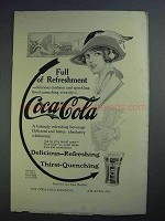1913 Coca-Cola Soda Ad - Full of Refreshment