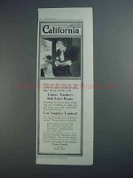 1913 Union Pacific Railroad Ad - California