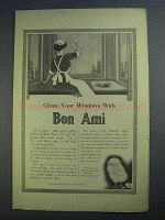 1913 Bon Ami Cleanser Ad - Clean Your Windows With