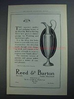 1913 Reed & Barton Silver Ad - The Superior Quality