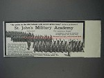 1913 St. John's Military Academy Ad - My Pride