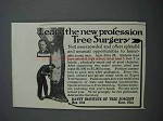 1913 Davey Institute of Tree Surgery Ad - Profession