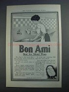 1912 Bon Ami Cleanser Ad - Best for Metal Ware