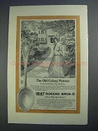 1912 1847 Rogers Bros. Old Colony Sugar Shell Ad