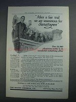 1912 Bauer Chemical Sanatogen Ad - After a Fair Trial
