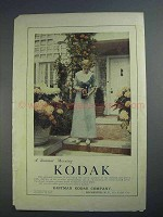 1912 Kodak Camera Ad - A Summer Morning