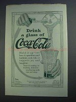 1912 Coca-Cola Soda Ad - Drink a Glass Of Coca-Cola