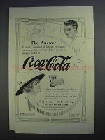 1912 Coca-Cola Soda Ad - The Answer