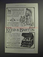 1912 Reed & Barton Silver Ad - Wedding Silver