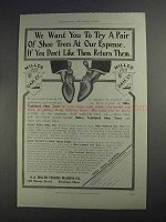 1912 O.A. Miller Treeing Machine Ad - Try a Pair