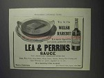 1912 Lea & Perrins Worcestershire Sauce Ad - Try It
