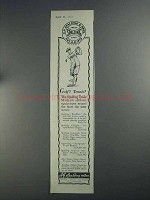1925 Spalding Athletic Goods Ad - Golf? Tennis?