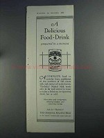 1925 Horlick's Malted Milk Ad - Delicious Food-Drink