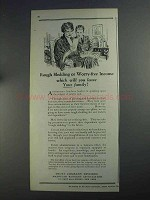 1925 A.B.A. Trust Company Division Ad - Worry-Free