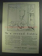 1925 Ivory Soap Ad - To A Second Fiddle