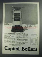 1925 Capitol Boilers Ad