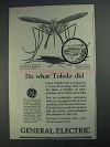 1925 General Electric Ad - Do What Toledo Did