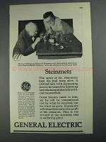 1925 General Electric Ad - Steinmetz