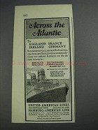1925 United American Line Ad