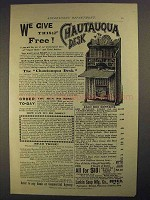 1892 Larkin Soap Ad - This Chautauqua Desk