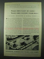 1931 General American Tank Car Ad - Your Fleet