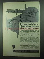 1931 Alcoa Aluminum Ad - Strange Bedfellows Made