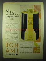 1931 Bon Ami Cleanser Ad - In a Lovely New Dress