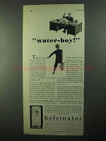 1931 Kelvinator Water Cooler Ad - Water-Boy