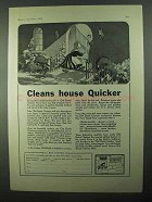 1931 Old Dutch Cleanser Ad - Cleans House Quicker