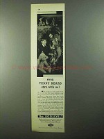 1931 The Roosevelt Hotel Ad - Teddy Bears Stay With Us