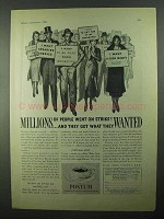 1931 Postum Drink Ad - Millions of People On Strike