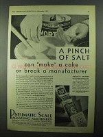 1931 Pneumatic Scale Packaging Machinery Ad - Salt