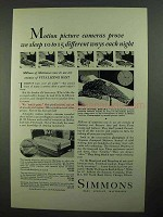 1931 Simmons Mattress Ad - Beautyrest, Deepsleep