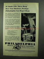 1931 Philadelphia Business Progress Association Ad