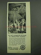 1931 Great Northern Railroad Ad - Heaven's Peak