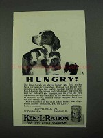 1931 Ken-L-Ration Dog Food Ad - Hungry!