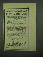 1926 John Hancock Life Insurance Ad - Years Ago
