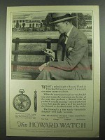1925 Howard Watch Ad - What a Splendid Gift!