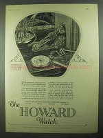 1925 Howard Watch Ad - For Generations