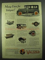 1925 Valentine's Valspar Ad - Many Uses For