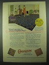 1925 Gold Seal Congoleum Art-Rug Ad - Pattern: No. 538